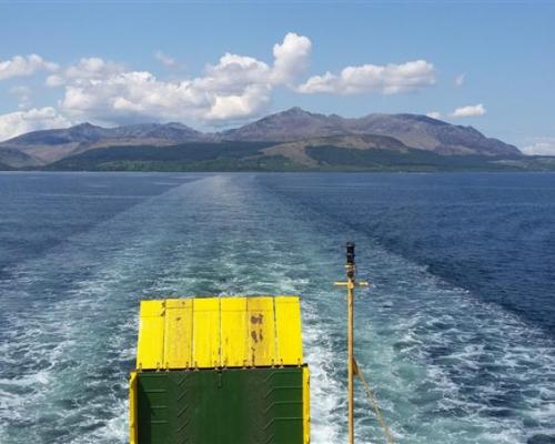Veerboot - Isle of Arran