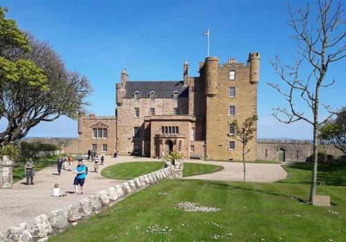 Castle of Mey, het huis van de Queen Mum