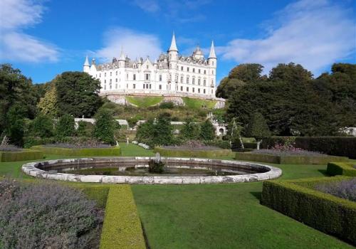 Dunrobin Castle en tuinen