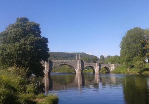Wades Bridge bij Aberfeldy