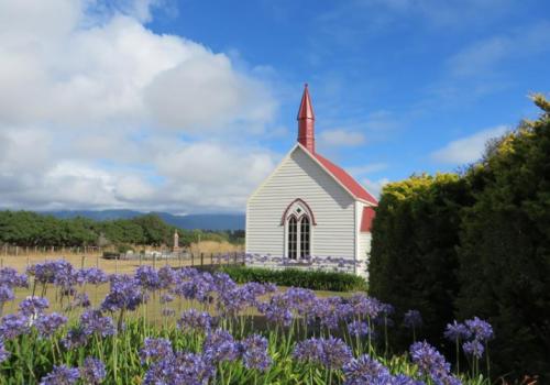 Maori kerkje Nieuwzeeland