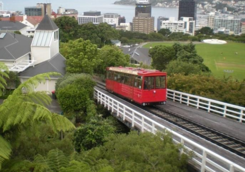 De Cable Car in Wellington