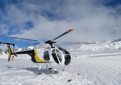 Helikopter Franz Josef Gletsjer