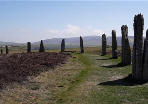 Ring of Brodgar op Orkney eilanden