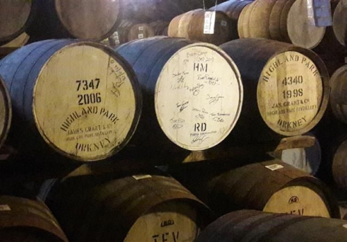 Highland Park whisky tour - Kirkwall Orkney