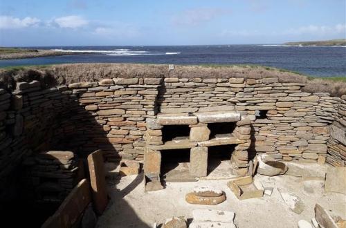 Scara Brae ruine prehistorisch dorp Orkney