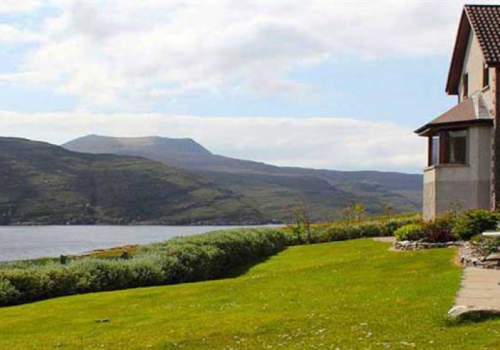 Luxe guesthouse Loch Broom Ullapool