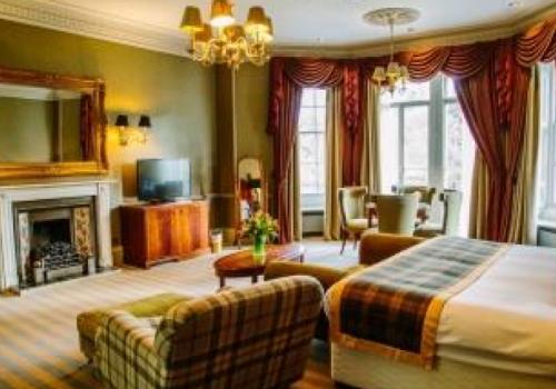 Klassiek luxe hotel Schotland