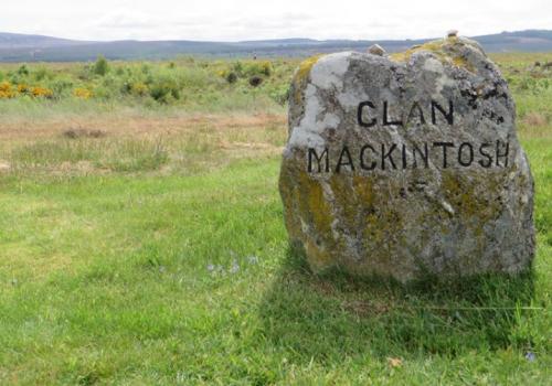 Culloden Battlefield bij Inverness
