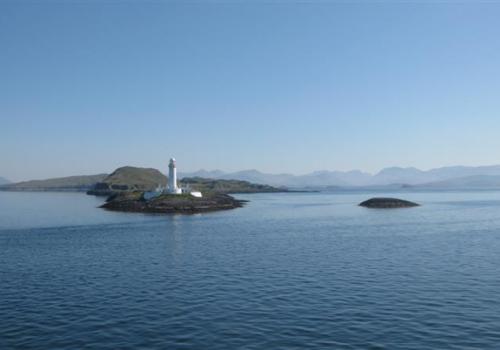 Op Calmac Ferry naar Isle of Mull