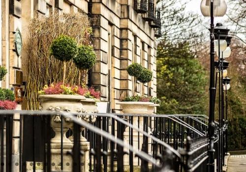Luxe hotel Edinburgh