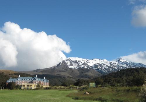 Chateau Tongariro Mount Ruapehu