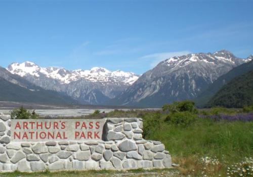 Arthurs Pass Waimakariri reis