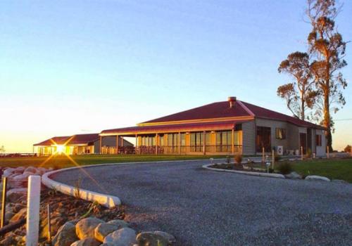 Luxe Lodge westkust Nieuwzeeland