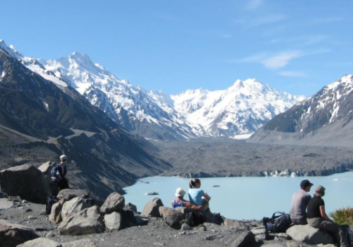 Lake Tasman Mount Cook Glacier