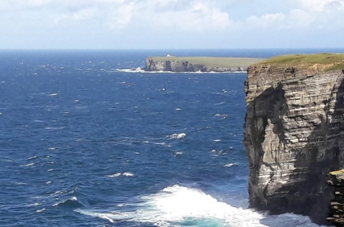 Marwick Head, Orkney, Kitchener, Puffins
