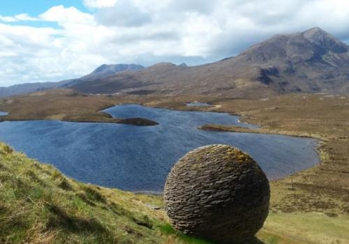 Knockan Crag, geologie, Ullapool, reis