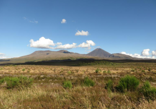 Tongariro, Crossing, Taupo, Lake, Ruapehu