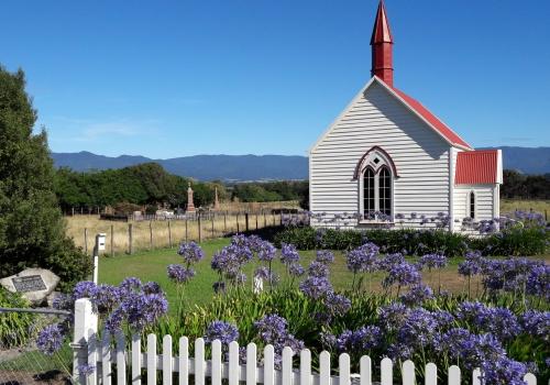 Maori, Kerk, Wairarapa, Martinsborough, Palisser, Cape