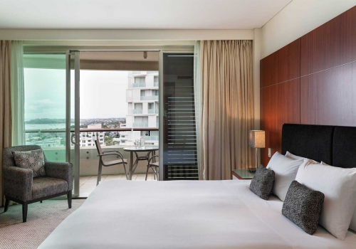 Luxe, hotel, Auckland, Albert, Park