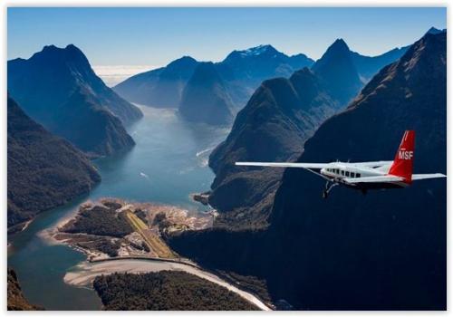 Vliegen Milford Sound Fly