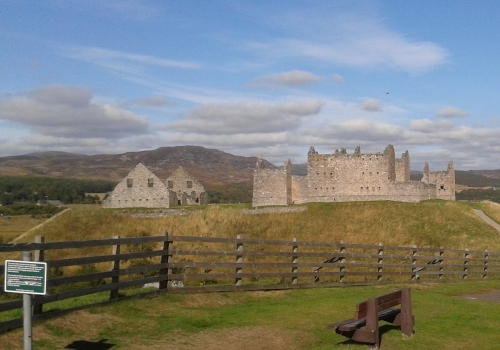 Ruthven Barracks, Cairngorms, Aviemore