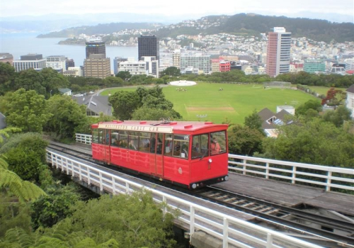 Wellington, Cable Car, Botanical Gardens
