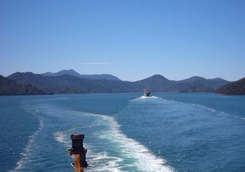 Interislander, veerboot, Picton, Wellington