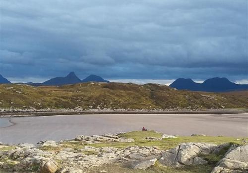 Brae, beach, Enard, Bay, Assynt